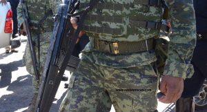Operativos militares en la entidad oaxaqueña