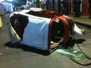 Destrozos durante el operativo en Juchitán