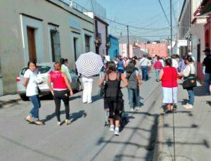 Bloqueo de calles en demanda de seguridad
