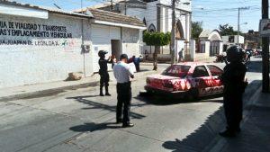 Daños por conflicto entre trasnportistas de la Mixteca