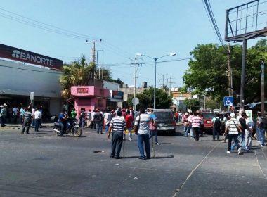 Desalojo en Salina Cruz