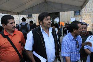 Líderes de la base trabajadora del Municipio de Oaxaca de Juárez