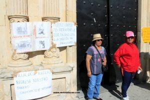 Sindicalizados en Oaxaca exigen informe sobre desvío de 20 Millones en el Municipio de Oaxaca