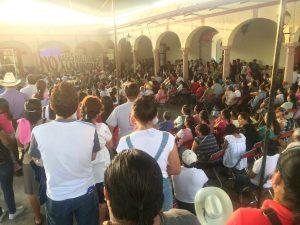 Asamblea en Tlacolula