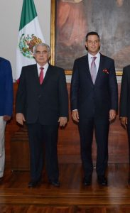 Hectór Anuar Mafud Mafud y Alejandro Murat Hinojosa