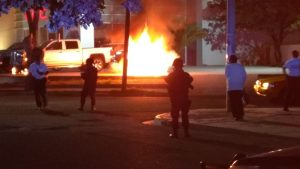 Explosión en la Chevrolet