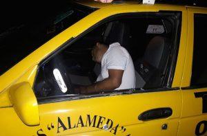 Taxista asesinado de dos disparos