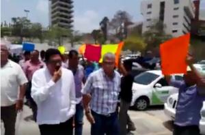 Ulises Ruiz entre protestas