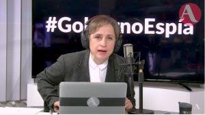 Aristegui, víctima del espionaje