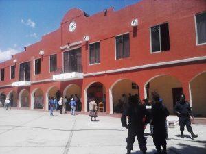 Palacio municipal de Santiago Huajolotitlán
