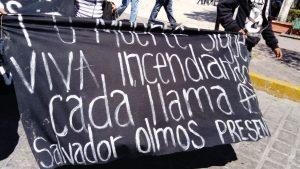 Protestas en Huajuapan