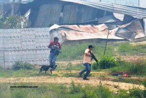 Ministeriales toman el control de la Vicente Guerrero