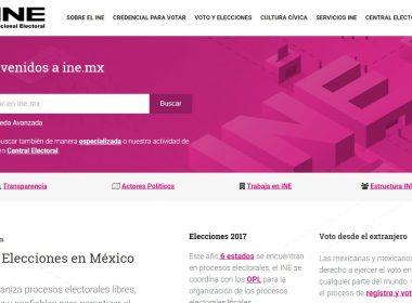 Portal del INE