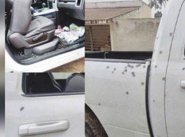 Camionetas atacadas en Amozoc-PeroteCamionetas atacadas en Amozoc-Perote