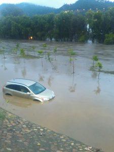 Inundaciones en Oaxaca