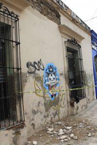 Primer cuadro de la ciudad de Oaxaca afectado por el terremoto