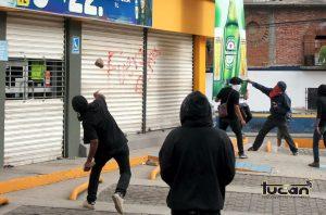 Bloque negro en Oaxaca