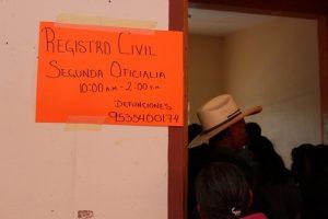 Oficialía en Huajuapan