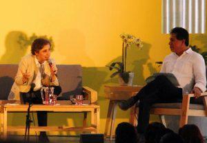 Carmen Aristegui y Pedro Matías