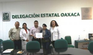 Certificación al IMSS delegación Oaxaca