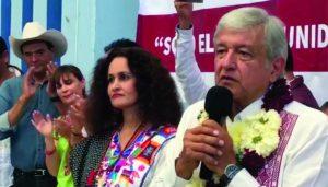 López Obrador en Oaxaca