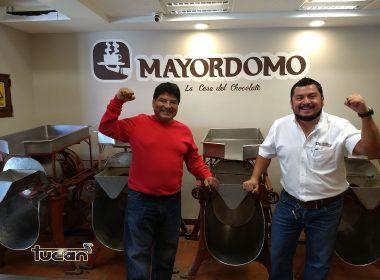 Salvador Flores y su hijo, propietarios de Chocolate Mayordomo