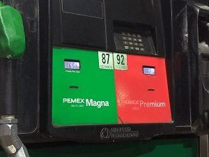 16.56 pesos el litro de gasolina magna en su última actualización en Oaxaca