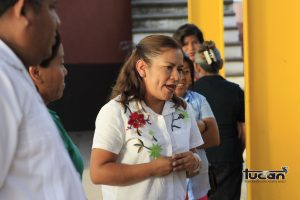 "Ciria Ortega López, Presidenta de la Asociación Civil ""Apoyo Solidario"""