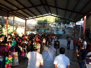 Gran asistencia de los niños de Oaxaca