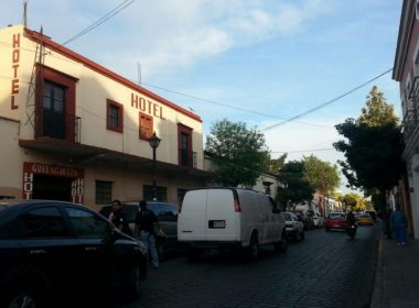 Hotel Guelaguetza, lugar del crimen