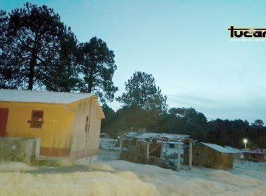 La Sierra de Oaxaca presenta temperaturas bajo cero
