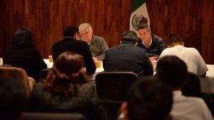 Reunión entre el Sector Salud y Autroridades de Oaxaca