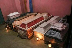 17 muertos en Jamiltepec