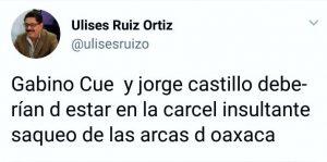 Red social del ex gobernador de Oaxaca