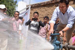 Más de 2 mil habitantes de Tutla serán beneficiados con el vital líquido