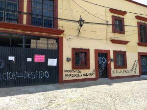 Sede del IEEPO en Jalatlaco