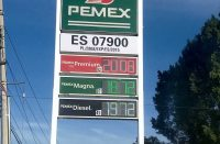 Gasolina a $20.08 pesos en Oaxaca