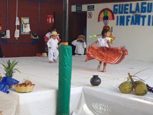 Guelaguetza infantil en Oaxaca