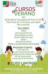 Programa de verano en Santa Lucía del Camino