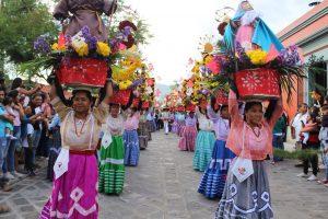 Santa Lucía presente en La Guelaguetza