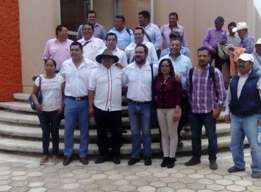 Autoridades de la Cañada