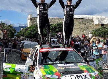 Ganadores del Rally Sierra Juárez
