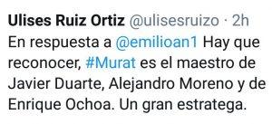 Respuesta de URO a Murat