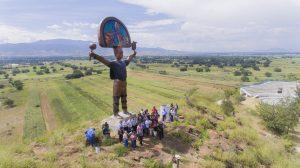 Autoridades, invitados y el Pueblo de Zimatlán acompañaron a Vladimir Cuevas