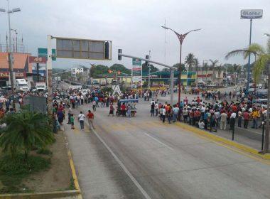 Bloqueos en Tuxtepec