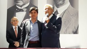 Jesús Ramírez y Andrés Manuel