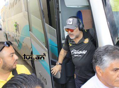 Maradona en Oaxaca. Foto Tucán