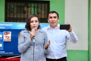 Metztli Beltrán y Said Hernández