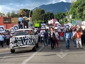 Marcha del 2 de Octubre en Oaxaca