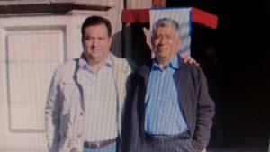 Oswaldo García Criollo y Oswaldo Jarquín